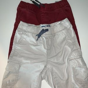 OLD NAVY TWO SIZE 5 SHORTS
